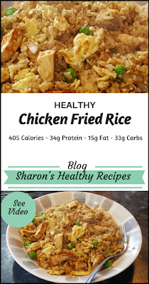 healthy chicken fried rice recipe