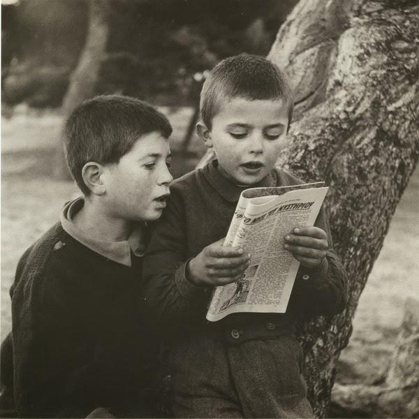 Αποτέλεσμα εικόνας για παιδια διαβαζουν ασπρομαυρη