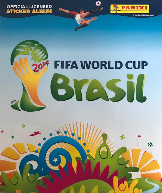 Album Brasile 2014 copertina