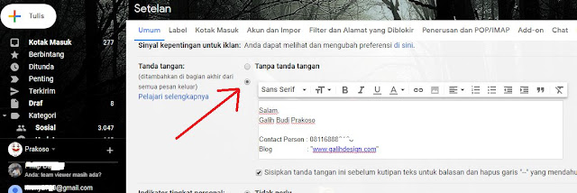 Cara Membuat Tanda Tangan Email di Gmail Otomatis