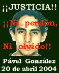Pável González Guerra sucia y asesinatos en México