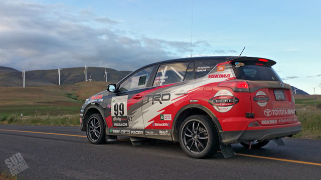 Toyota RAV4 Rally Car