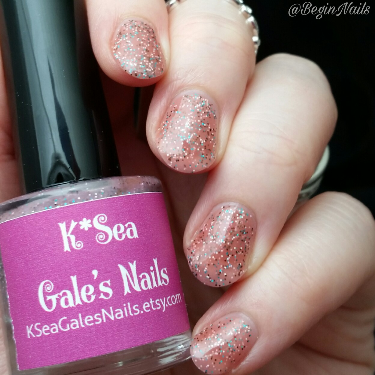 Let\'s Begin Nails: K*Sea Gale\'s Nails 3 Year Anniversary Trio Swatch ...