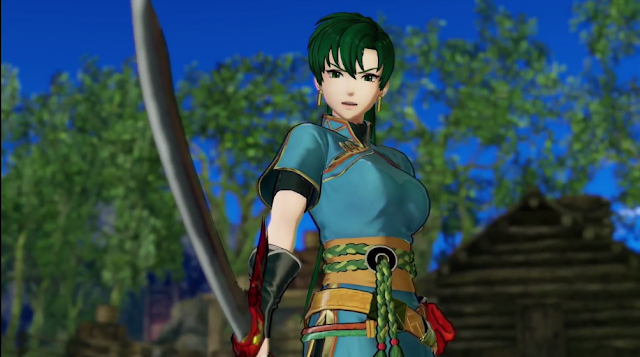 Fire Emblem Warriors Lyn Lyndis appearance Katti