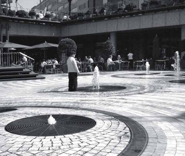 Kid at Las Glorias Shopping Center, Barcelona