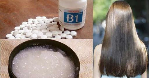 Dùng vitamin B1 làm cách chữa rụng tóc hiệu quả đến bất ngờ