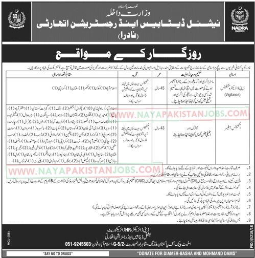 NADRA-JOBS,jobs in Nadra 2019, nadra latest jobs , NADRA Latest Jobs 2019 May | National Database And Registration Authority