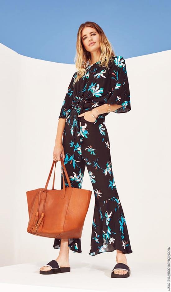 Ropa de moda para mujer primavera verano 2019.