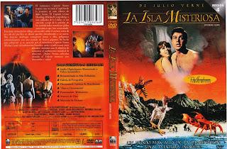 Carátula dvd: La isla misteriosa