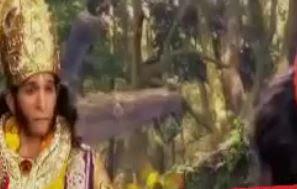 Sinopsis Mahabharata Episode 142 - Pertemuan Bhima dengan Hanoman