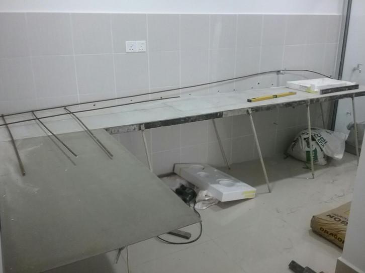 Ingin Membuat Dapur Sendiri Ini Dia Cara Membuat Meja Dapur Cor Simple Dan Mudah Inspirasi Rumah Kecil