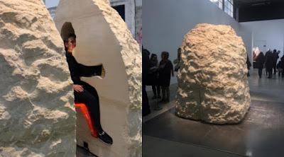 Tantangan Mendebarkan, Seniman Ini Segel Diri dalam 'Sarkofagus' Selama 8 Hari