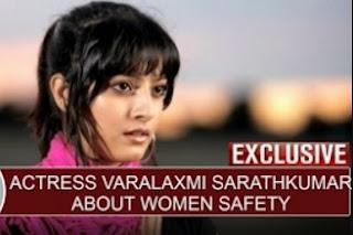 Exclusive: Actress Varalaxmi Sarathkumar about Women Safety   Thanthi Tv