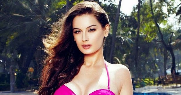 Bollywood Actresses In Maxim: Bollywood Actress Evelyn Sharma Various Bikini Outfits For
