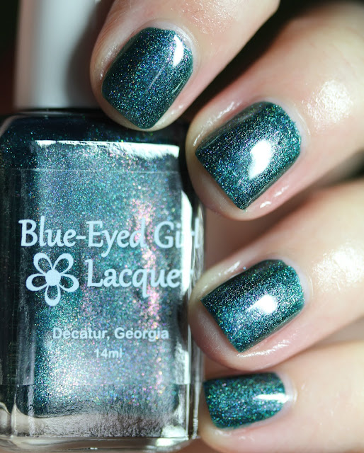 Blue-Eyed Girl Lacquer BEGL The Night Tears Us Loose
