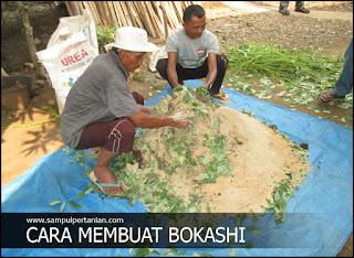 Cara mudah membuat Bokashi