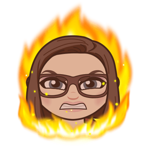 cartoon image of me with flames of anger crawling up the sides of my face