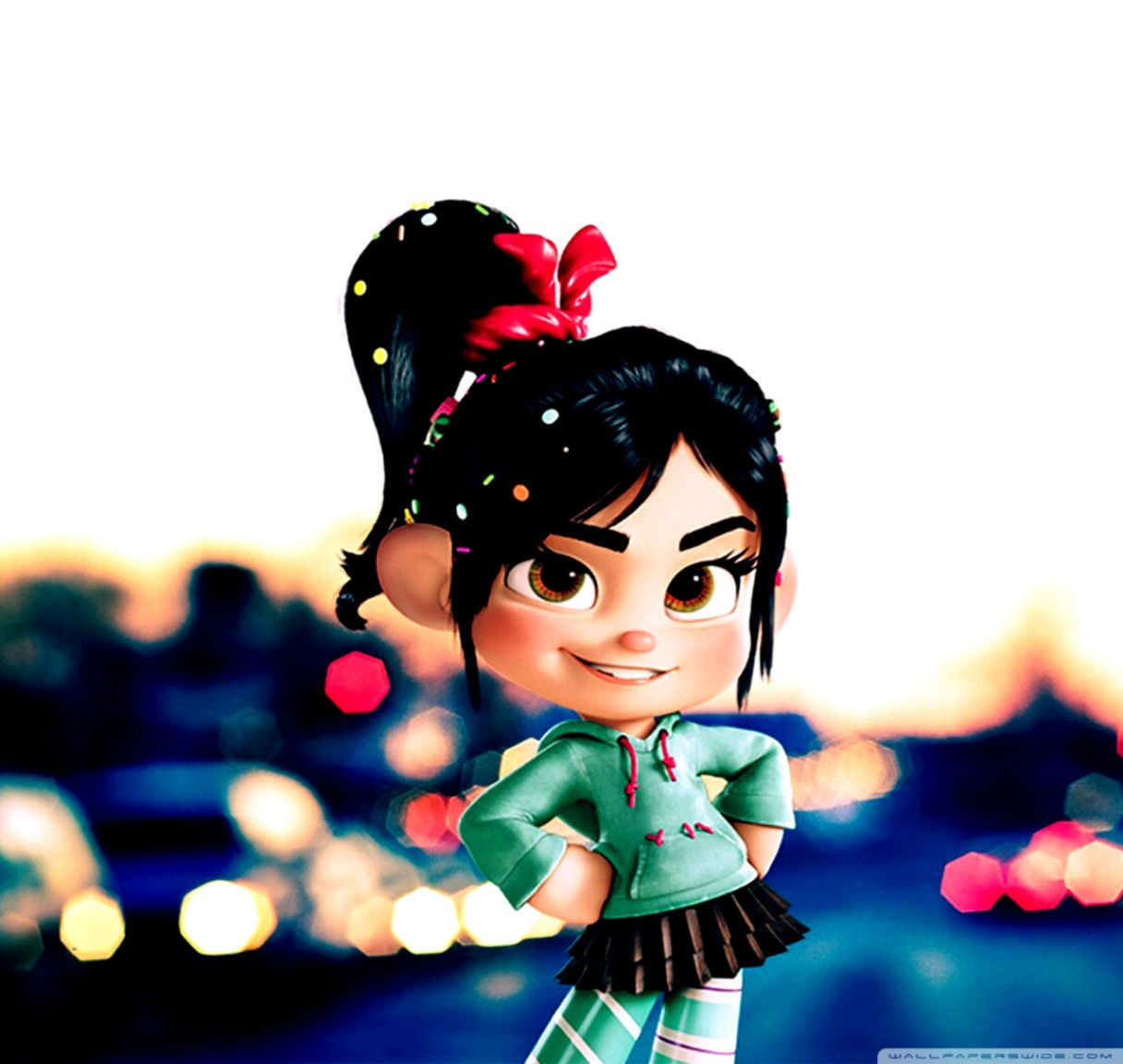 Ralph And Vanellope Wreck It Ralph Wallpapers Wallpapers