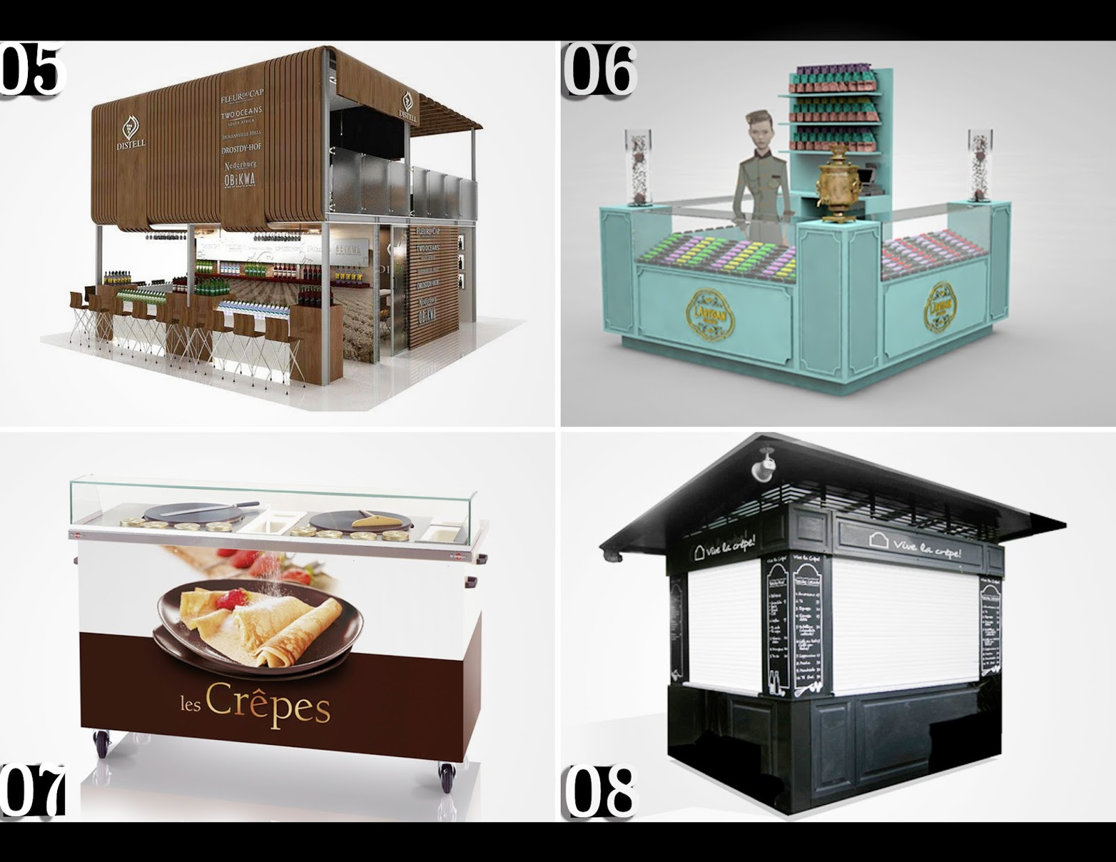 Jewelry kiosk manufacturers thin blog for Garden kiosk designs