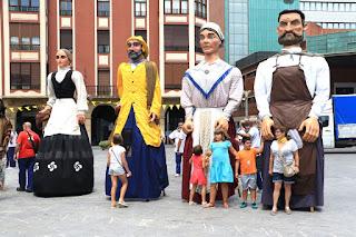 Gigantes en Herriko Plaza
