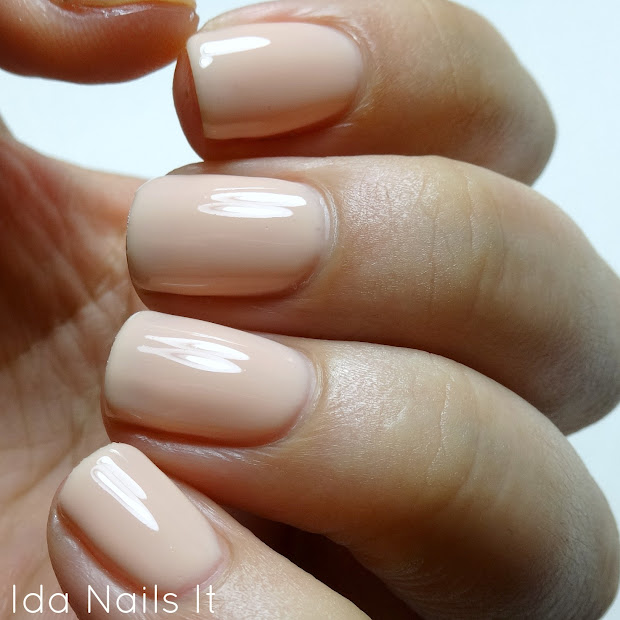 ida nails pink gellac uncovered