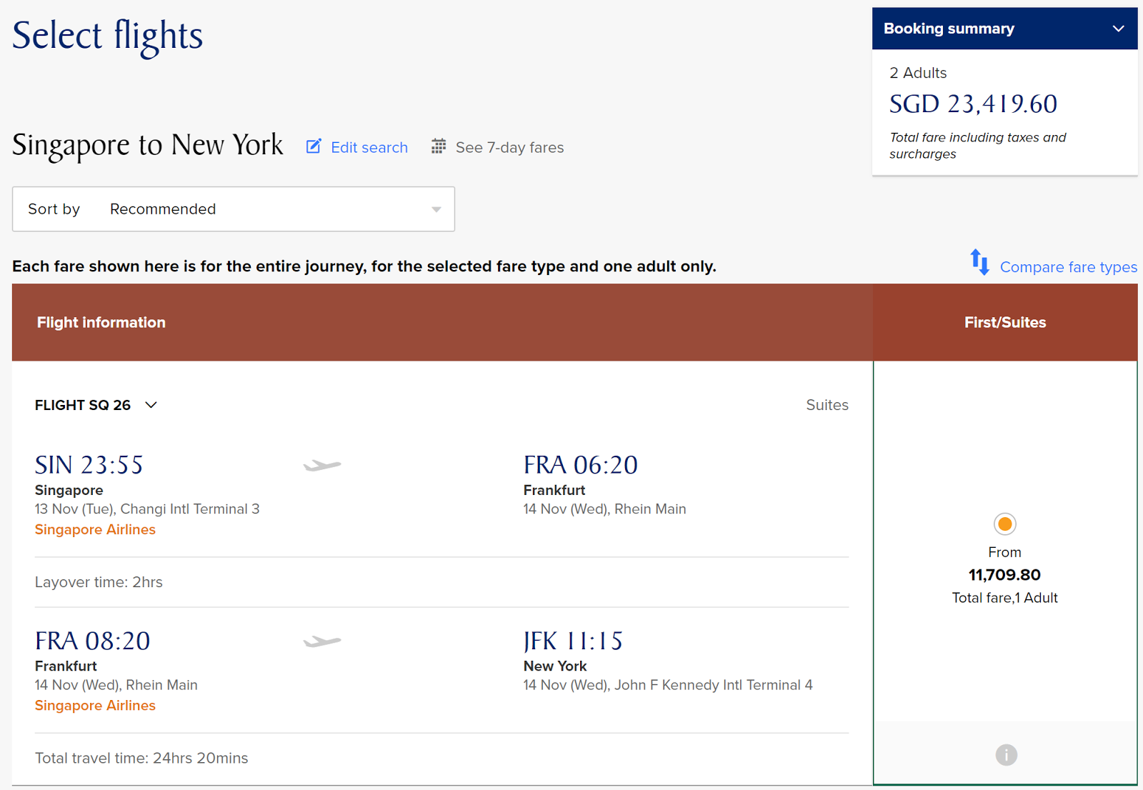 how to purchase open singapore airlines ticket