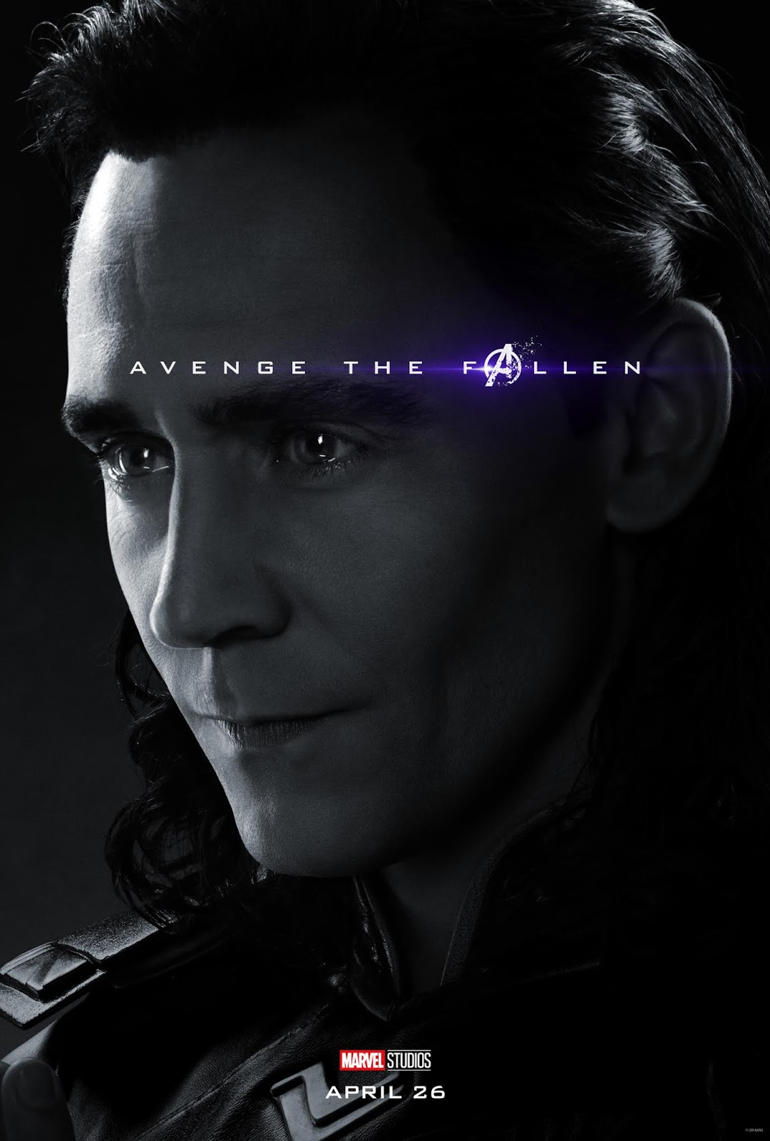 Sasaki Time Avengers Endgame Character Poster For Loki