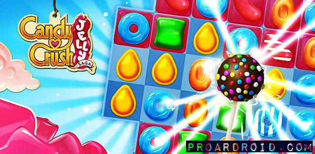 لعبة Candy Crush Jelly Saga Apk v2.9.12 كاملة للاندرويد (اخر اصدار) logo