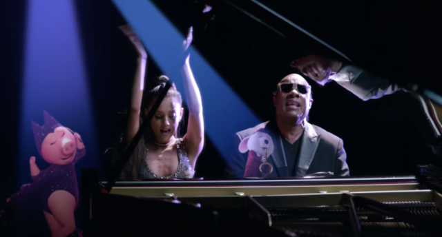 Video: Stevie Wonder - Faith (Con Ariana Grande, del soundtrack Sing)