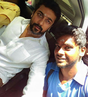 Surya with fan latest images