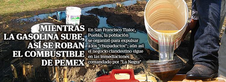 """EL """"TRIÁNGULO ROJO"""", ASI ROBAN CARTELES CON AYUDA de PEMEX y SOBORNANDO MILITARES"""