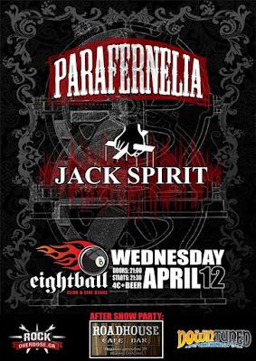parafernelia live