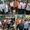 Ketua DPRD Fikar Azami Serahkan Bantuan Kebakaran