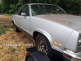 A worn silver and gray El Camino found a buyer.