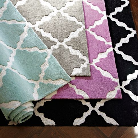 Good One Rug That PB Teen Has Had For A While Now And Has Cropped Up In Several  Bloggersu0027 Homes Is The Lattice Rug: