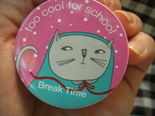 Too cool for school -  Break Time 02 свотчи и отзыв