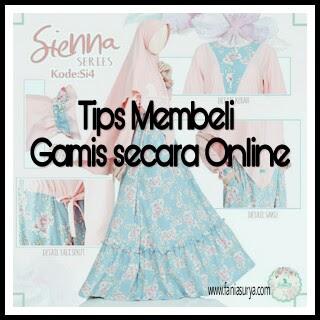 Tips Membeli Gamis secara Online