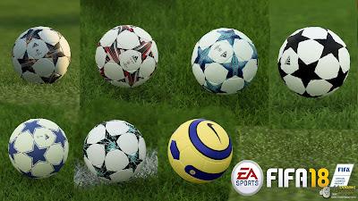 FIFA 18 Ballpack UEFA Champions League Classics by Andrimod