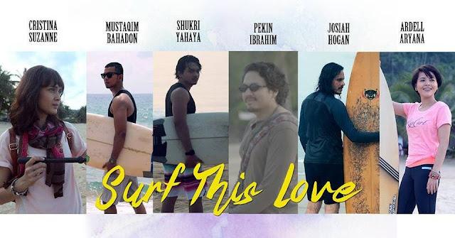 FILEM SURF THIS LOVE DI PULAU TIOMAN