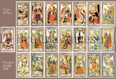Láminas del Tarot de París