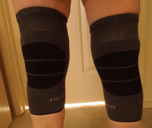 I model my knee warmers. © B. Radisavljevic