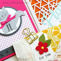 Free Make & Take Kit when you order $40 or more from Julie Davison in August 2016 www.juliedavison.com/shop