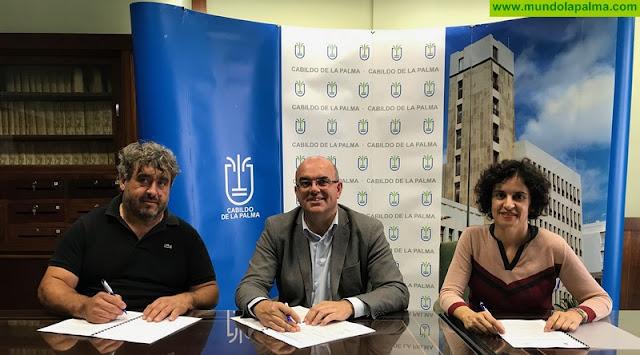 Cabildo y ADFILPA renuevan su compromiso para mejorar la calidad de vida de las personas con discapacidad de La Palma