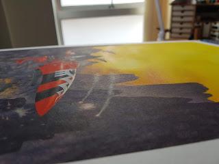 RIchard Wright's Eldar Jetbike - Side View