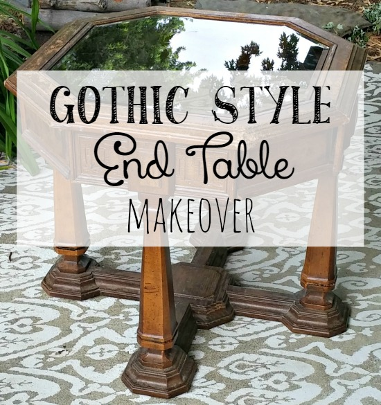 An ugly 1970's table gets a sweet makeover!