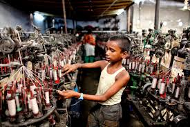 Child labor in rmg industry