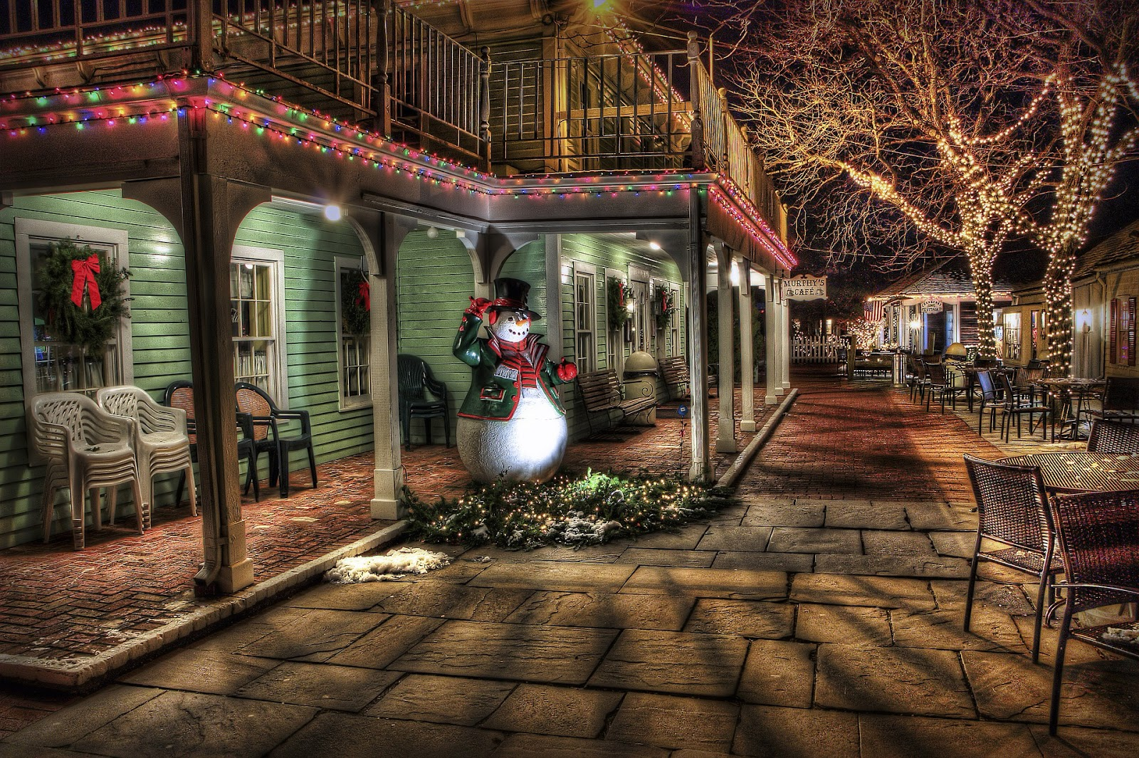 Amerikanische Weihnachtsbeleuchtung.Landhaus Blog Amerikanische Weihnachtsbeleuchtung Haus Im
