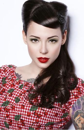 Extremadamente atractivo peinados vintage Imagen de tutoriales de color de pelo - La moda en tu cabello: Los mejores Peinados Vintage 2015/2016