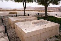 De graven van David en Paula Ben-Gurion in Sde Boker