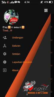 BBM MOD The Begal Theme V3.0.1.25 Apk Unclone